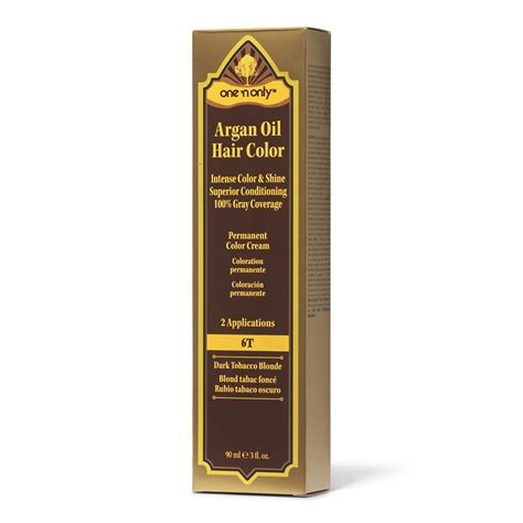 one n only hair color one n only 6t tobacco argan permanent