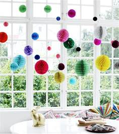 Baby Shower Homemade Decoration Ideas 20 Ways With Honeycomb Paper Pom Poms Mollie Makes