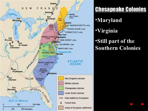 the of southern part two ch 2 colonizing the southern colonies 1