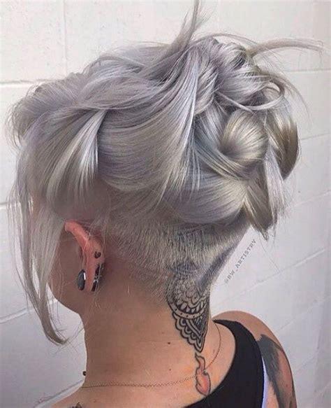 long undercut hairstyle women female undercut long hair designs