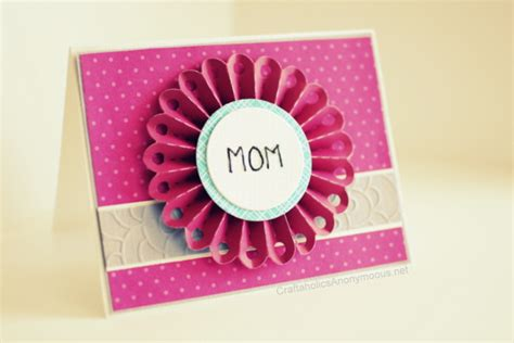 Mothers Day Gift Cards - handmade mother s day card gift ideas 2015
