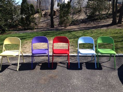 colored folding chairs beware of low quality metal folding chairs a creative