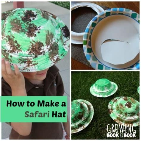 How To Make Hat Using Paper - safari hat a and safari on