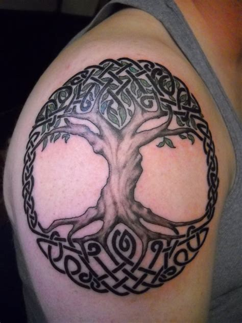 celtic tree of life tattoo design tree of tattoos for ideas and inspiration for guys