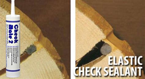 check mate log caulk  seal cracks  checks  log homes
