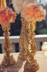 Bling Wedding Vases 50 Trendiest Gold Wedding Ideas Elegant Amp Glam
