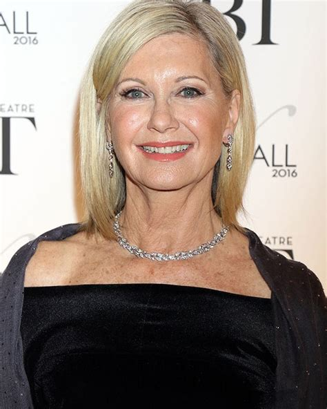 olivia newton john latest olivia newton john s message to grease live cast