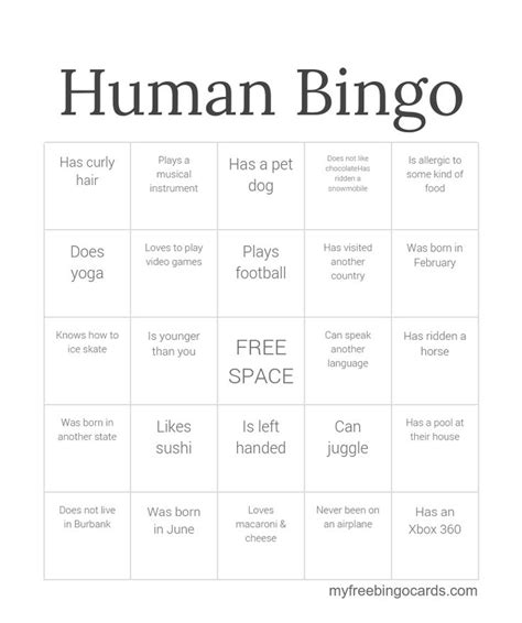 best 25 human bingo ideas on pinterest icebreakers