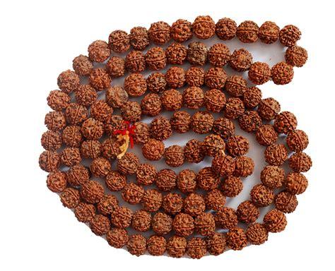 rudraksha meaning and mukhi types 5 mukhi rudraksha mala 108 1 beads online shopping 1