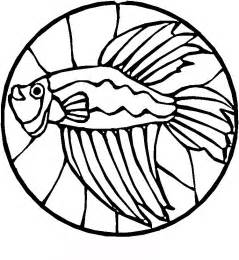 stained glass coloring pages stained glass fish coloring pages gt gt disney coloring pages