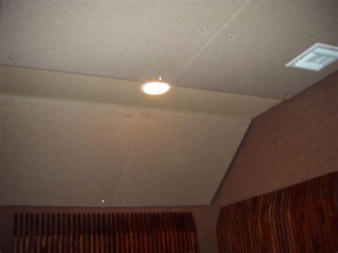 ceiling treatment james taylor steven klein s sound control room inc