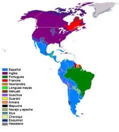 america language map idiomas oficiales de los pa 237 ses de am 233 rica saber es pr 225 ctico