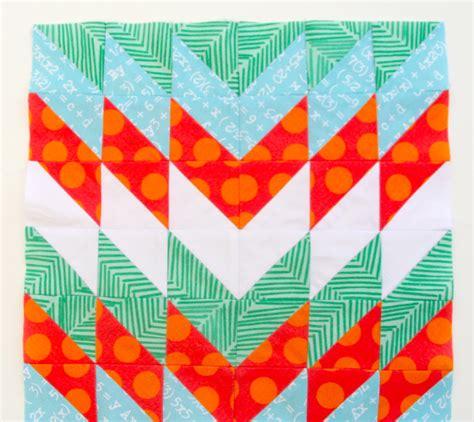 Modern Quilt Blocks: Half Square Triangles   Spoonflower Blog