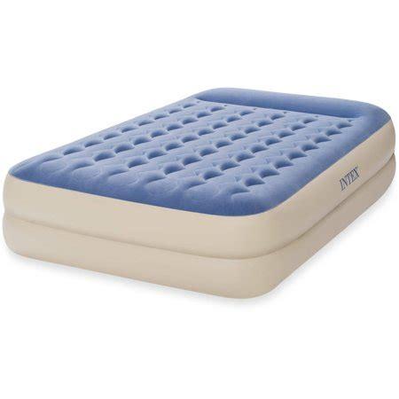 intex queen  dura beam standard raised pillow rest