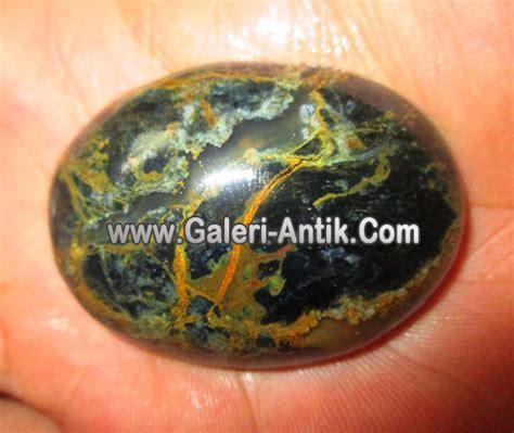 Chalcedony Motif Big batu garut motif serat emas galeri barang antik galeri