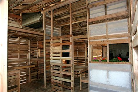pallet house by i beam design these inspirational tiny houses are made out of what wow
