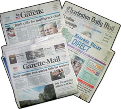 Charleston Gazette Records Charleston Gazette Mail The Charleston Gazette And The Charleston Daily Mail Operate