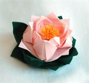 Paper Lotus Flowers Products Wendy S Origami