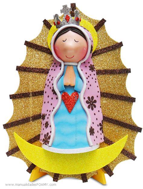 imagen virgen maria en foamy fofucha virgen de guadalupe en foamy goma eva i gratis