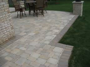 Raised patios traditional patio detroit by apex landscape and