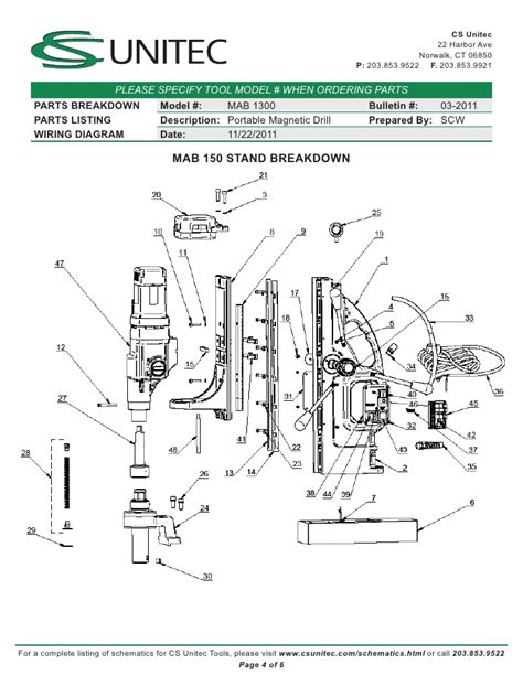electric drill wiring diagram