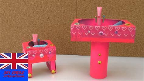 doll bathroom sink how to a doll bathroom sink doll crafts diy doll