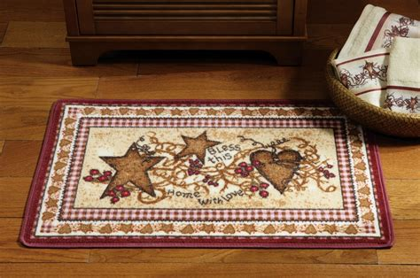 hearts and stars kitchen set primitive country folk bathroom shower curtain hooks hearts and new ebay