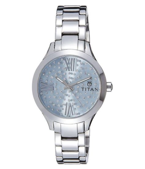 titan silver analog snapdeal price watches deals at