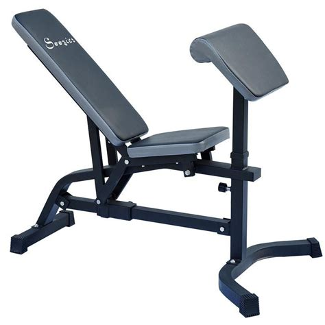 leg workout bench incline exercise bench preacher flat weight curl decline