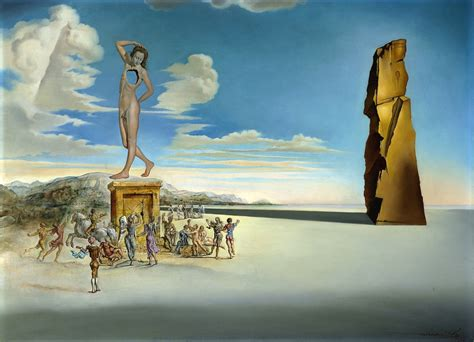 3 Paintings By Salvador Dali by Salvador Dali Surrealist Dadaist Cubist Painter And