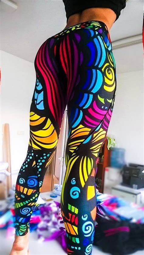colorful running tights best 25 colorful ideas on aztec