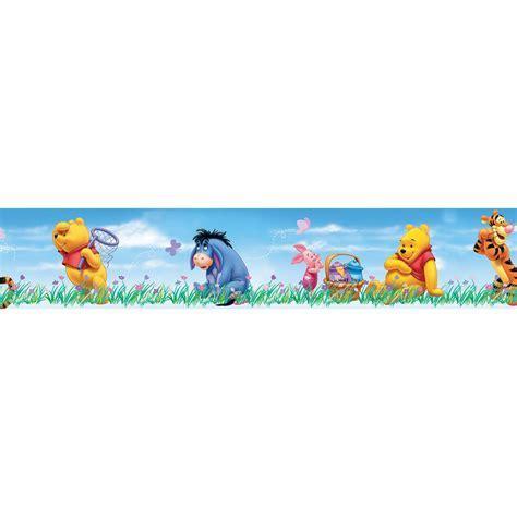 Disney Winnie The Pooh Multicolour Border   Departments