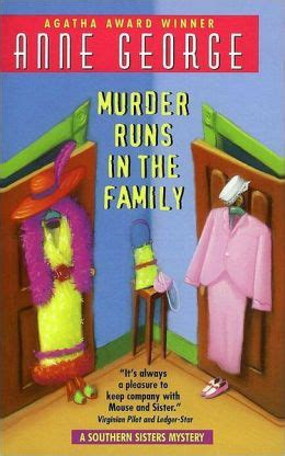 runs in the family books murder runs in the family by george 9780061849688