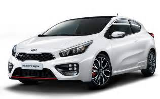 kia pro ceed gt front side view in white photo 6