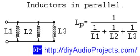 calculate total inductance parallel parallel inductor calculator