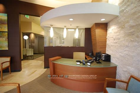 Office Front Desk Enviromed Design Dental Office Design Office Design Architect Urgent Care