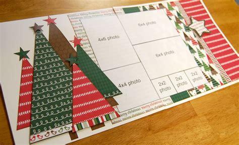 christmas html layout scrapbook generation debbie sanders sketch layout for saturday