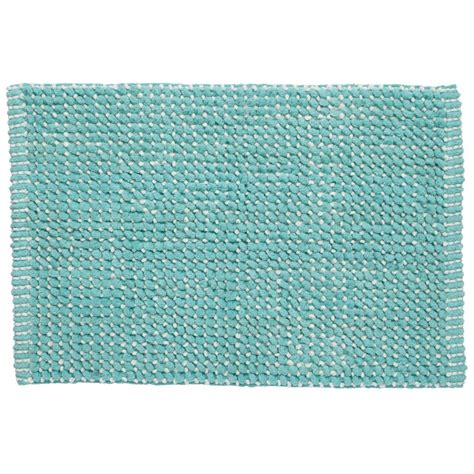 Aqua Bath Rug Fresh Start Bath Mat Aqua The Land Of Nod
