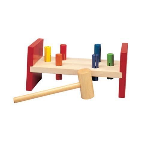 chad valley wooden hammer bench workbench