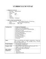 mẫu đơn xin việc bằng tiếng anh cho gi 225 o vi 234 n 123doc