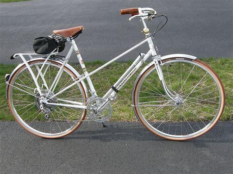 peugeot bike white white peugeot mixte 1975 vintage cers cars bikes