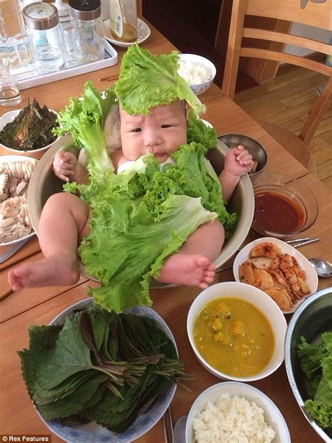 chinese family put  baby   salad bowl daily mail