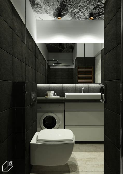 apartment bathrooms 2 minimalist apartment design ideas with beautiful blue
