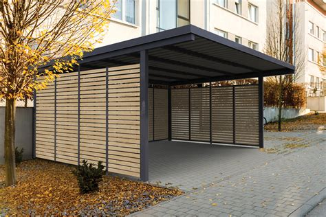 carport aus holz modularer carport mehr als nur ein dach 252 ber dem auto