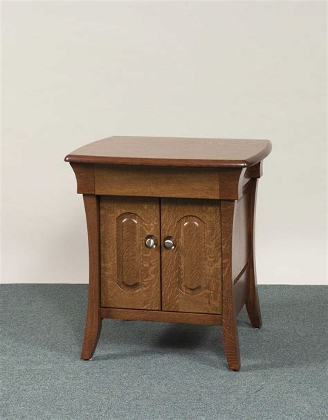 Marquette Bedroom Collection Nightstand Amish - banbury collection two door nightstand amish valley products