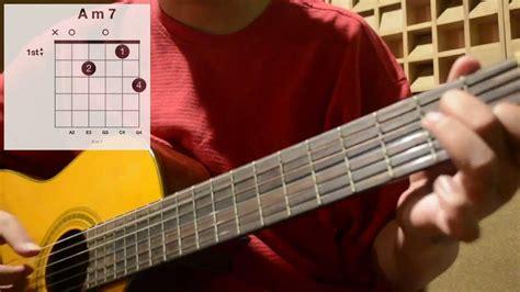 tutorial bermain finger style autumn leaves finger picking style guitar tutorial youtube