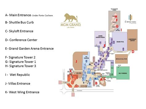 mgm grand map guide lucky limousinelucky limousine