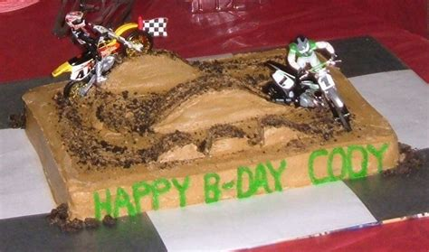Dirt Track Motocross Cakecentral M