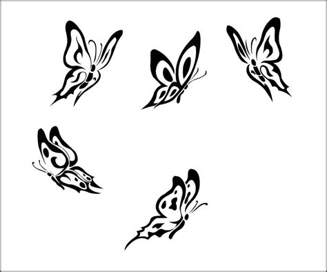 tribal butterfly tattoos designs cherry blossom designs