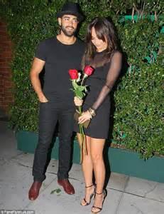 jesse metcalfe and fiancee cara santana look straight out